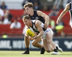 AFL 2020 Training - Carlton v Collingwood Practice Match