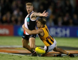 AFL 2020 Marsh Community Series - St Kilda v Hawthorn