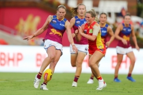AFLW 2020 Round 03 - Gold Coast v Brisbane