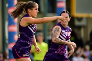 AFLW 2020 Round 03 - Fremantle v Collingwood