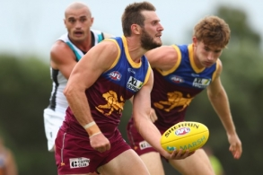 AFL 2020 Marsh Community Series - Brisbane v Port Adelaide