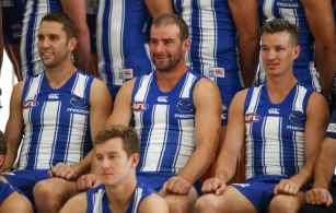 AFL 2020 Media - North Melbourne Team Photo Day