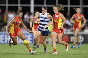 AFLW 2020 Round 05 - Gold Coast v Geelong