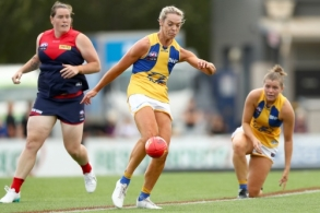 AFLW 2020 Round 05 - Melbourne v West Coast