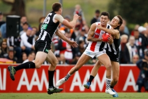 AFL 2020 Marsh Community Series - Collingwood v St Kilda