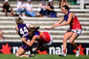 AFLW 2020 Round 05 - Fremantle v Brisbane