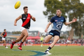 AFL 2020 Marsh Community Series - Geelong v Essendon