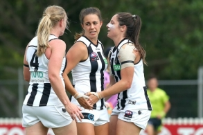 AFLW 2020 Round 06 - Brisbane v Collingwood
