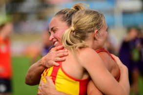 AFLW 2020 Semi Final - Fremantle v Gold Coast