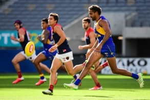 AFL 2020 Round 01 - West Coast v Melbourne