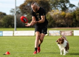 AFL 2020 Training - Max Gawn and Adam Tomlinson Isolation Training