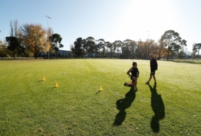 AFL 2020 Training - Dylan Shiel Isolation Training
