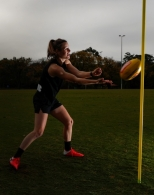 AFLW 2020 Training - Alicia Eva and Lou Stephenson Iso Training