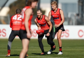 AFL 2020 Training - Essendon 260520