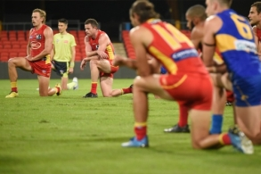 AFL 2020 Round 02 - Gold Coast v West Coast