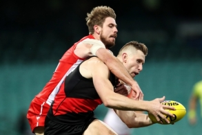 AFL 2020 Round 02 - Sydney v Essendon