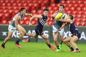 AFL 2020 Round 03 - Fremantle v Port Adelaide
