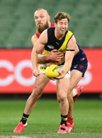 AFL 2020 Round 05 - Melbourne v Richmond