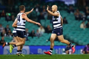 AFL 2020 Round 06 - Geelong v Brisbane