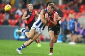AFL 2020 Round 06 - Essendon v North Melbourne