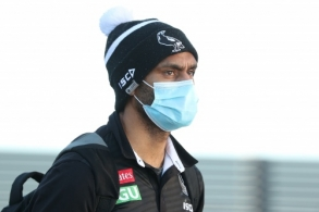 AFL 2020 Media - Geelong and Collingwood Arrive in Perth