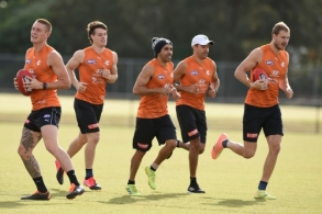 AFL 2020 Training - Carlton 210720