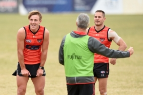 AFL 2020 Training - Essendon 220720