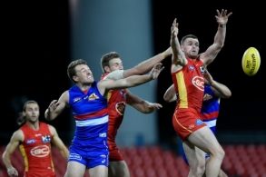 AFL 2020 Round 08 - Gold Coast v Western Bulldogs