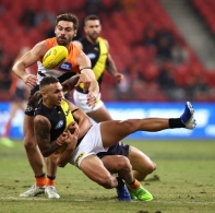 AFL 2020 Round 08 - GWS v Richmond