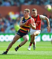 AFL 2020 Round 08 - Adelaide v Essendon