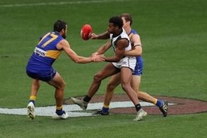 AFL 2020 Round 08 - West Coast v Collingwood
