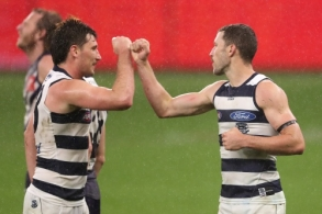 AFL 2020 Round 08 - Fremantle v Geelong