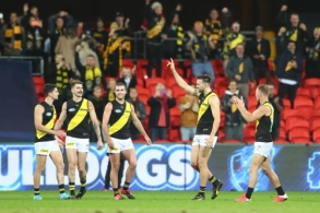 AFL 2020 Round 09 - Western Bulldogs v Richmond