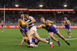 AFL 2020 Round 09 - West Coast v Geelong