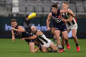 AFL 2020 Round 09 - Fremantle v Collingwood