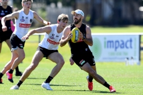 AFL 2020 Training - Collingwood 050820