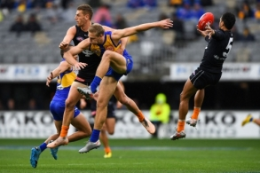 AFL 2020 Round 11 - West Coast v Carlton
