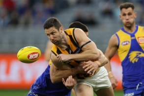 AFL 2020 Round 12 - West Coast v Hawthorn