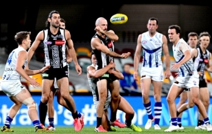 AFL 2020 Round 13 - Collingwood v North Melbourne