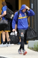 AFL 2020 Media - West Coast Depart Perth 250820