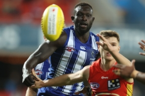 AFL 2020 Round 14 - Gold Coast v North Melbourne