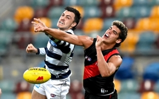 AFL 2020 Round 16 - Geelong v Essendon