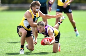 AFL 2020 Training - St Kilda 160920