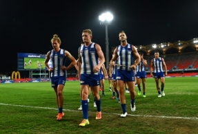 AFL 2020 Round 18 - North Melbourne v West Coast