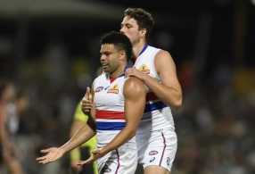 AFL 2020 Round 18 - Fremantle v Western Bulldogs