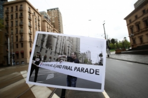 AFL 2020 Media - Grand Final Parade Route