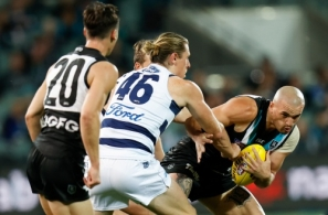 AFL 2020 First Qualifying Final - Port Adelaide v Geelong