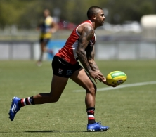 AFL 2020 Training - St Kilda 100720