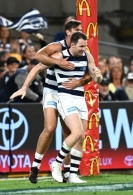 AFL 2020 First Semi Final - Geelong v Collingwood