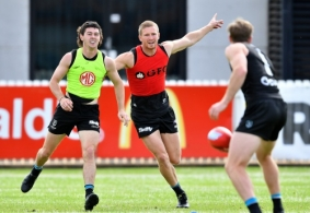 AFL 2020 Training - Port Adelaide 121020